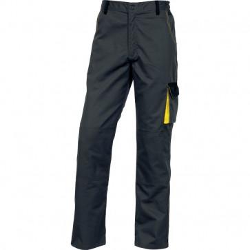Pantalone da lavoro DMPAN Delta Plus - grigio/giallo - M - DMPANGJTM