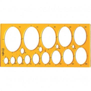 Maschera per ellissi Arda 31,6x15 cm 8/75 mm 7135