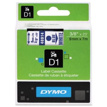 Nastri Dymo D1 9 mm x 7 m blu/bianco S0720690 ( ex40914)