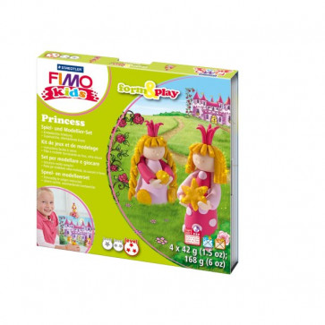 FIMO kids scatola gioco form&play Staedtler - Principesse - 8034 06 LY