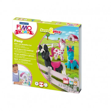 FIMO kids scatola gioco form&play Staedtler - Pony - 8034 08 LY