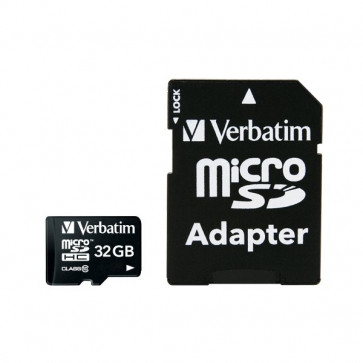 Flash memory card Verbatim - Micro SDHC Class 10 - 32 GB - 44083