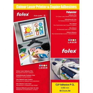 Film adesivo per stampanti Folex A4 bianco lucido- 2999.W.441 (conf.50)