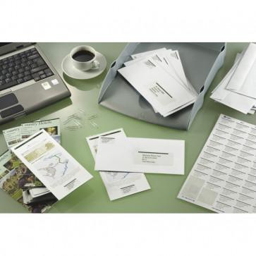 Etichette Copy Laser Prem.Tico indirizzi A4 Las/Ink/Fot ang.arrot. 64,6x33,8 mm LP4W-6434 (conf.100)
