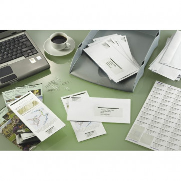 Etichette Copy Laser Prem.Tico indirizzi A4 Las/Ink/Fot S/margini 70x42,3 mm LP4W-7042 (conf.100)