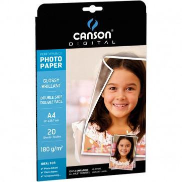 Carta fotografica Performance Canson Glossy A3 210 g/mq 0004326 (conf.50)