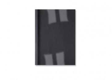 Cartelline termiche GBC goffrata 3 mm 30 fogli trasp./nero IB451614 (conf.100)