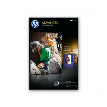 Carta fotografica HP Advanced Hewlett Packard 10x15 cm 250 g/mg Q8692A (conf.100)