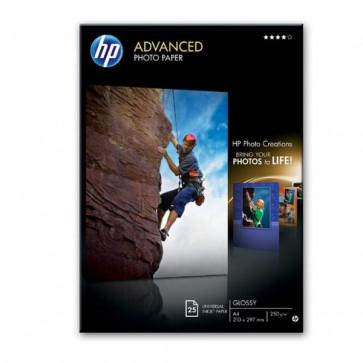 Carta fotografica HP Advanced Hewlett Packard lucida A4 250 g/mg Q5456A (conf.25)