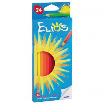 Pastelli Elios Fila con Astuccio 2,8 mm da 3 anni in poi 273600 (conf.24)