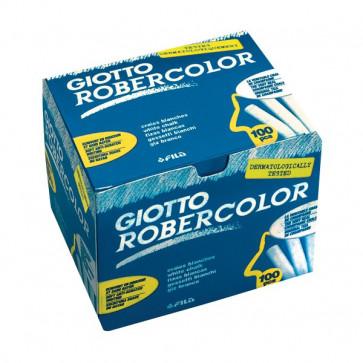 Gessetti Robercolor Giotto 80 mm bianco 538800 (conf.100)