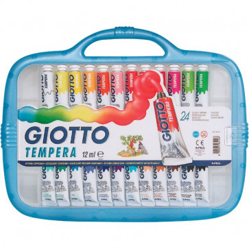 Tubetti tempera Giotto 12 ml 305000 (conf.24)
