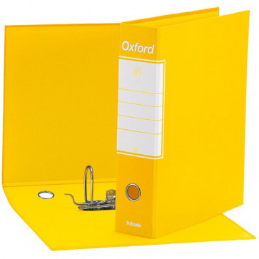 Registratori Oxford Esselte protocollo 8 cm 23x33 cm Giallo 390785090 (conf.6)