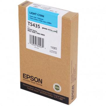 Originale Epson C13T543500 Cartuccia inkjet ink pigmentato ULTRACHROME T5435 ciano chiaro
