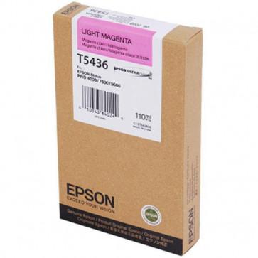 Originale Epson C13T543600 Cartuccia inkjet ink pigmentato ULTRACHROME T5436 magenta chiaro