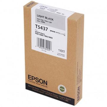 Originale Epson C13T543700 Cartuccia inkjet ink pigmentato ULTRACHROME T5437 nero chiaro