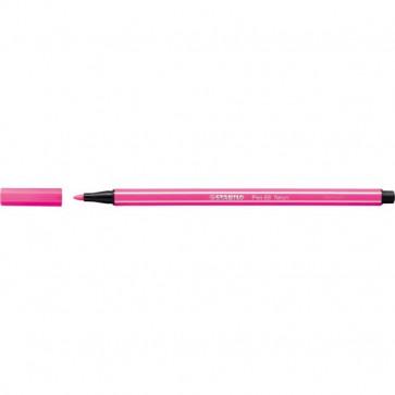 STABILO pen 68 Fluo - rosa fluorescente - 1 mm - dai 7 anni - 68/056 (conf.10)