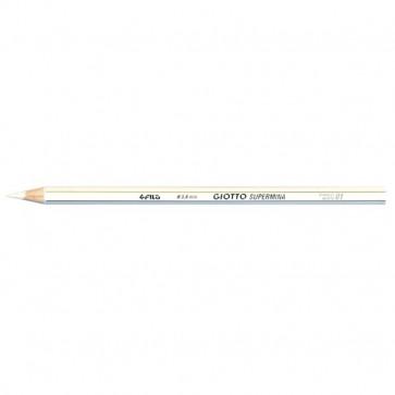 Pastelli Supermina Giotto bianco 2390 01 (conf. 12)