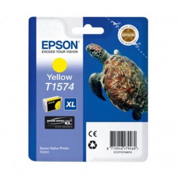 Orig. Epson C13T15744010 Cart. inkjet alta cap. ink pig. blister RS TARTARUGA-TAGLIA XL T1574 giallo