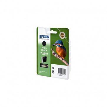 Orig. Epson C13T15914010 Cart. inkjet ink pig. blister RS Martin Pescatore-Taglia XL nero fotografico