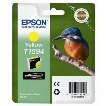 Originale Epson C13T15944010 Cartuccia inkjet ink pigmentato blister RS Martin Pescatore-Taglia XL giallo