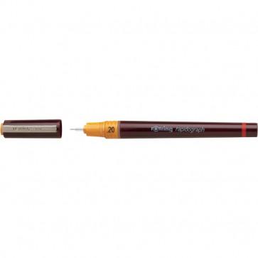Rapidograph Rotring 0,2 mm nero S0203230