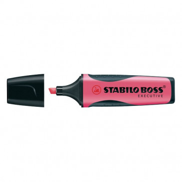 Evidenziatore Stabilo Boss Executive rosa 2-5 mm 73/56 (conf.10)
