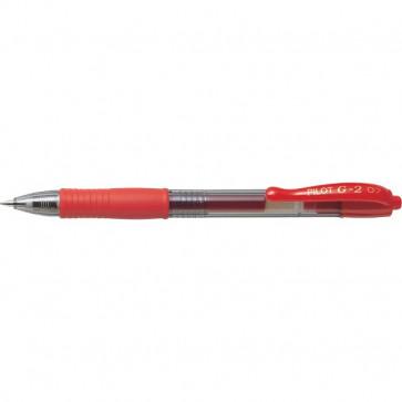 Penna a sfera a scatto G-2 Pilot rosso 0,7 mm 001522
