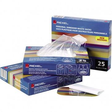 Sacchi per distruggidocumenti Rexel 327X517X71 mm fino a 115 litri 40070 (conf.100)
