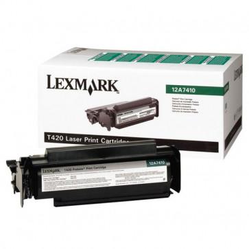Originale Lexmark 12A7410 Toner nero