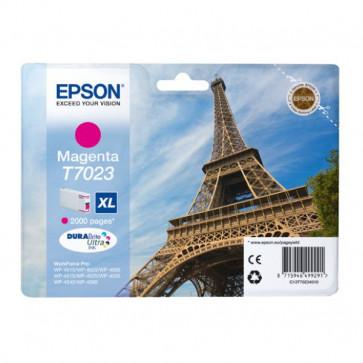 Originale Epson C13T70234010 Cart.inkjet alta cap. pigment. blister RS DURABRITE ULTRA XL T7023 magenta