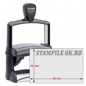 Timbro autoinchiostrante Trodat Professional 5211 Nero ( 13 righe - 85X55 mm) Tr3625