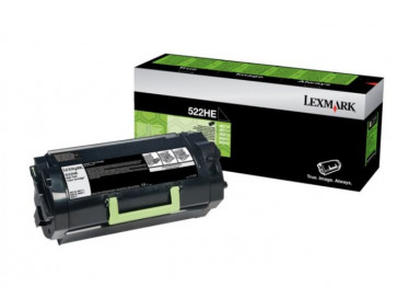 Originale Lexmark 52D2H0E Toner alta resa Corporate Cartridges 522HE  nero