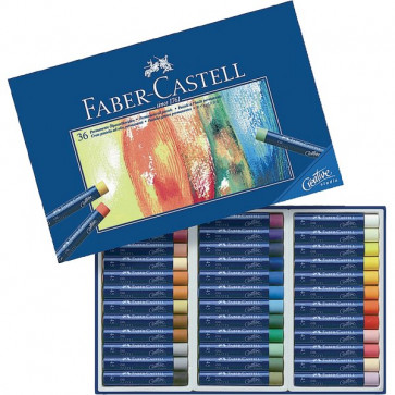 Oil Pastel Creative Studio Faber Castell assortiti 127036 (conf.36)