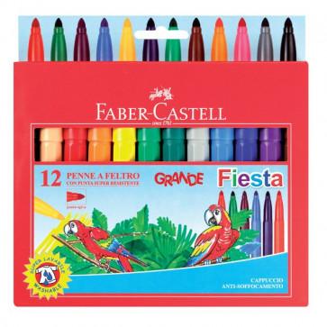 Pennarelli GRANDE FIESTA Faber Castell 1,3 mm 3+ 154024 (conf.24)