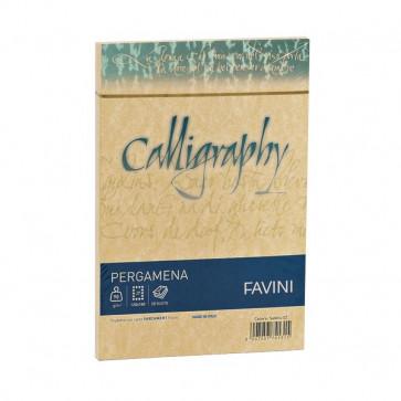Buste Calligraphy Pergamena Favini buste 90 g/m2 cm. 12x18 oro A57W207 (conf.25)