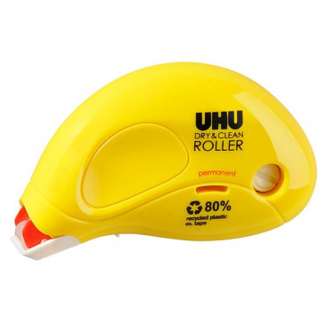 Colle Roller usa e getta Dry&Clean UHU 8,5 m permanente D1671/D1672