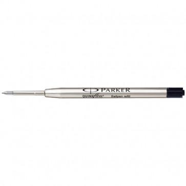 Refill sfera QuinkFlow Parker Parker Pen 1 mm sfera media nero 1 mm SO909440