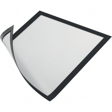 Cornice magnetica Durable A4 25x0,45x32,5 cm porta avvisi nero 4869-01 (conf.5)