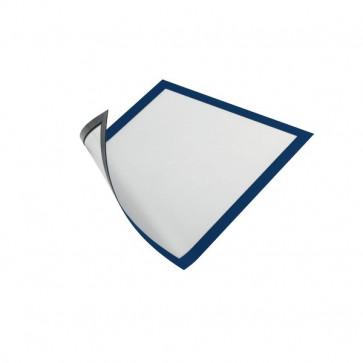 Cornice magnetica Durable A4 25x0,45x32,5 cm porta avvisi blu 4869-07 (conf.5)