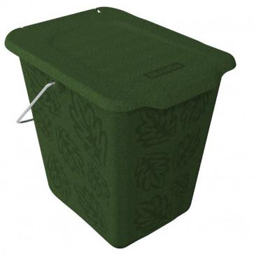 Cestino per rifiuti organici Rotho Cestino verde F707758