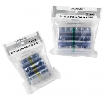 Blister in plastica per monete Holenburg 20 cent 40 monete 8004/20 (conf.20)
