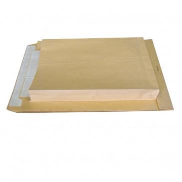 Buste a sacco avana Pigna soffietti su 3 lati 25+4x35 cm 120 g/mq 0208886 (conf.250)