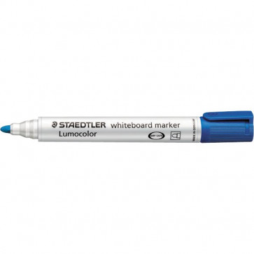 Marcatore a secco Lumocolor Whiteboard Staedtler blu tonda 2 mm 351-3