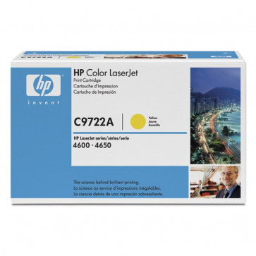 Originale HP C9722A Toner giallo