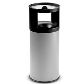 Posacenere/gettacarte autoestinguente h 80cm Stilcasa grigio