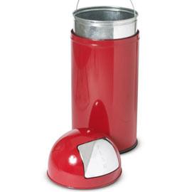Gettacarte a colonna Push Stilcasa rosso h 85cm