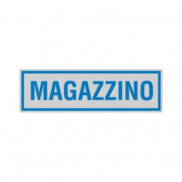 Cartelli segnaletici adesivi Cartelli Segnalatori - 165x50 mm - magazzino - 96696 (conf.10)
