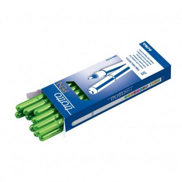 Tratto Pen - astuccio - verde fluo - 830715 (conf.12)