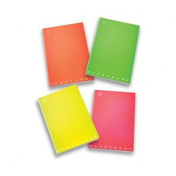 Quaderni A4 Monocromo Fluo Pigna - A4 - 4 mm - 40+R - 02267924M